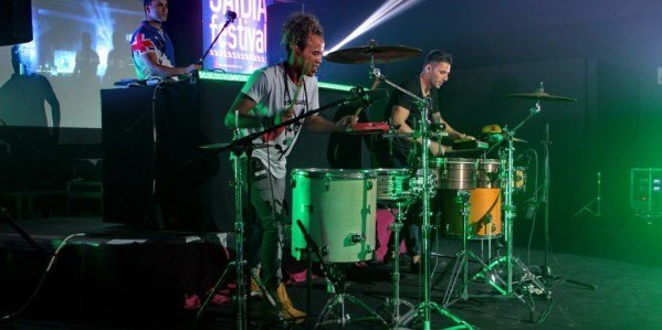 Afro Cuban Drums durante el saidia Festival
